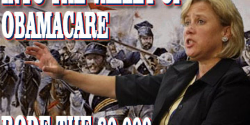 BOOM: Mary's Obamacare Vote Has Cost 80,000 Their Health Insurance