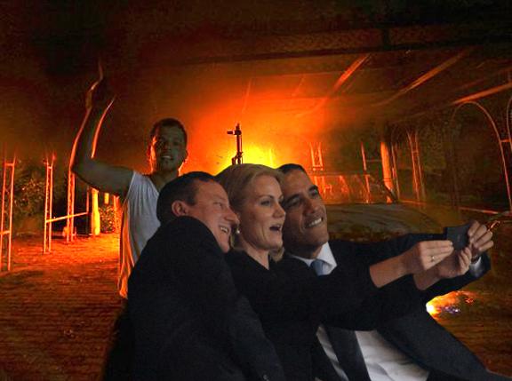 benghazi selfie