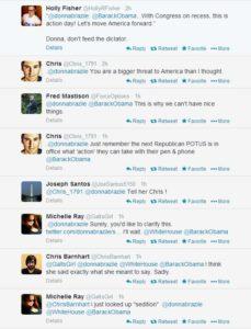 brazile tweet responses 1