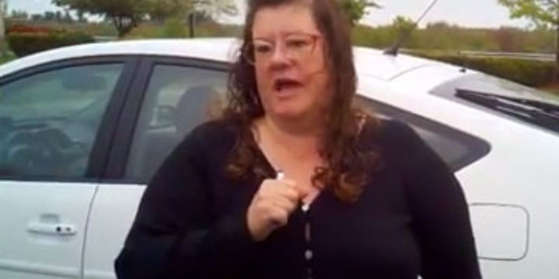 Ever See The Crazy Lefty Parking-Lot Accoster Video?