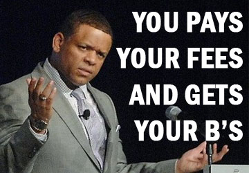 you pays your fees