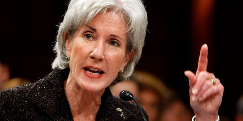 Perfect Timing: Sebelius Leaving HHS Just In Time To Receive Govt. Pension, Healthcare Benefits