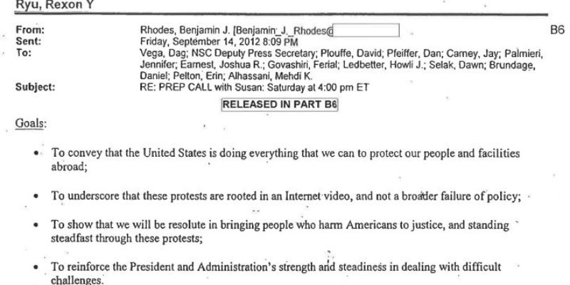 There Is A Smoking Gun In the Benghazi Scandal…