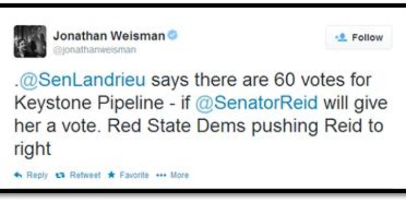 Landrieu On Dems Blocking Keystone Pipeline: 'I Tried'