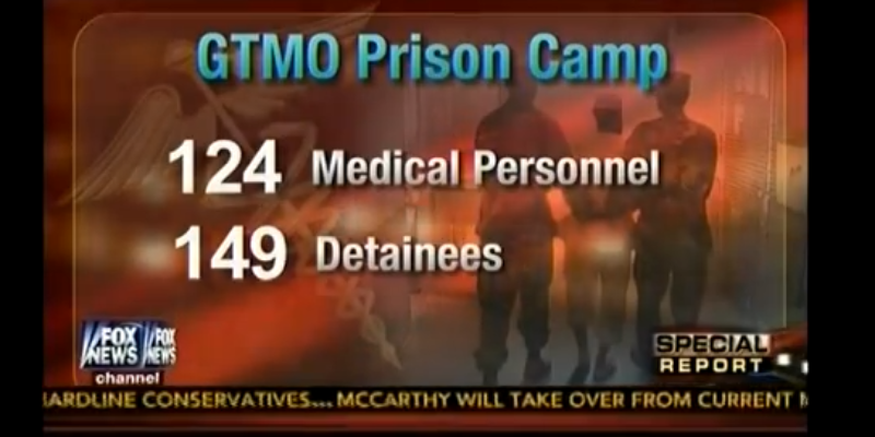 Gitmo Prisoners Probably Have Better Healthcare Than You