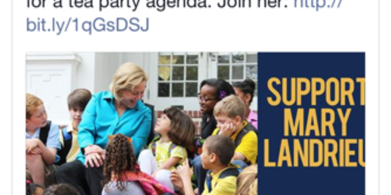 Landrieu Targets Tea Party, Rob Maness In Latest Attack Ad