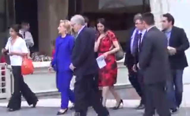 COMEUPPANCE: Hillary Asked To Inscribe Her Book To Christopher Stevens
