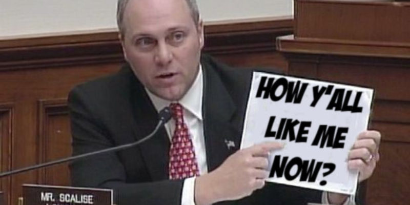 It's Been A Great Day For Steve Scalise, and Zuckerberg Is Only Helping