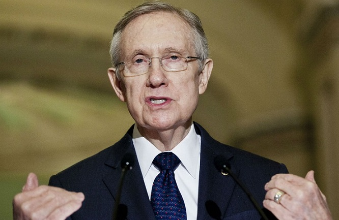 Harry Reid: 'Southern Border Is Secure'
