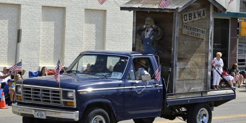 Obama Priorities: DOJ Investigating 4th Of July Parade Float