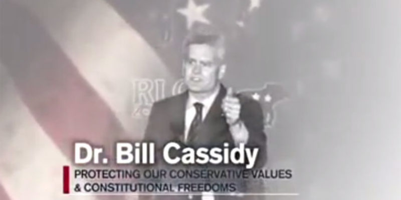 Cassidy's Super PAC Is Off And Running