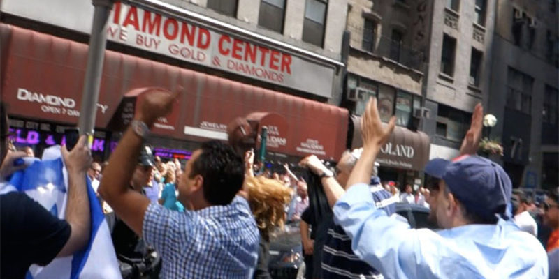 #PROTESTFAIL: Pro-Palestinians Overwhelmed In NYC's Diamond District