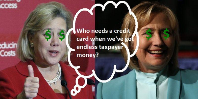 SPENDIN' SISTERS: Mary Landrieu And Hillary Clinton Live Lavishly On The Backs Of Taxpayers
