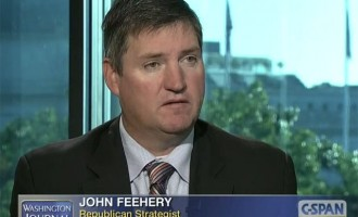Blithering RINO Ignoramus John Feehery Shoots And Misses At Maness