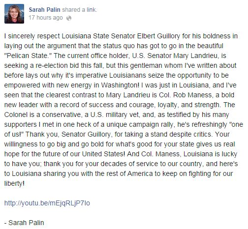 palin on guillory
