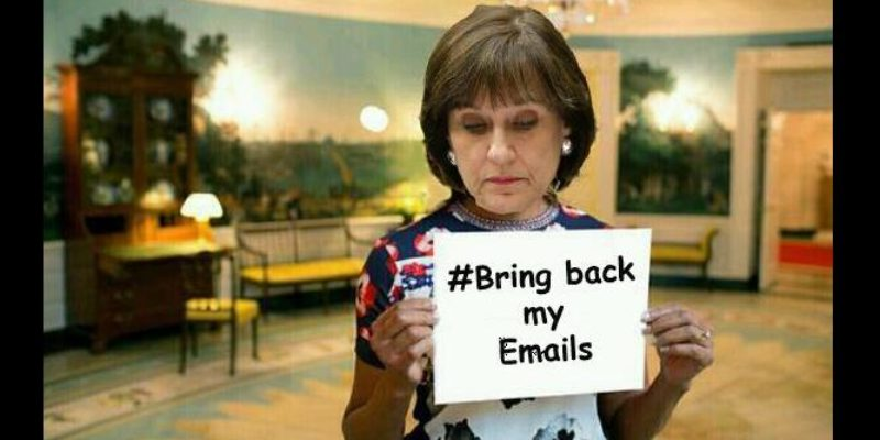 OH LOOK! Here Are More Of Lois Lerner's 'Lost' Emails