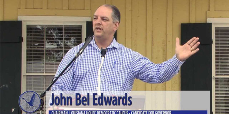 John Bel Edwards Might Be The Bruce Jenner Of The Louisiana Governor's Race