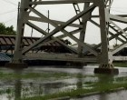 VIDEO: Watch The Wind Blow A Train Off The Huey P. Long Bridge