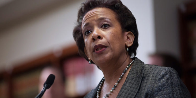 Loretta Lynch/Hillary Clinton Is The Real 2016 Collusion Story