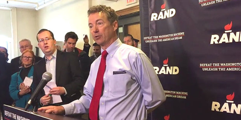 VIDEO: Rand Paul Is Really Tired Of Being Asked If He's Still Running For President