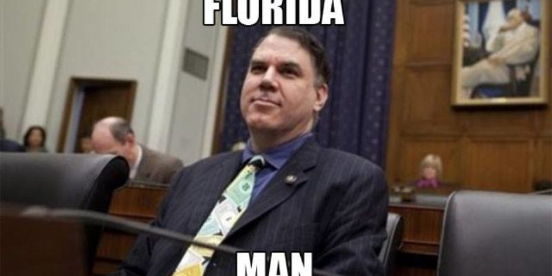 Alan Grayson Goes Full Florida Man On A Reporter Asking Him About His Offshore Bank Accounts