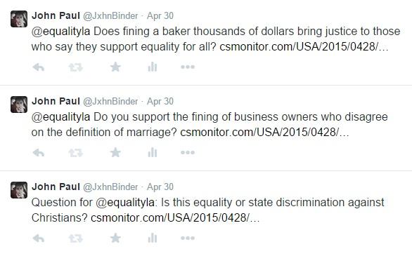 Equality Louisiana tweets