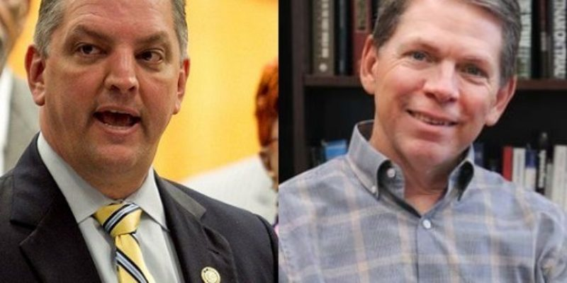 John Bel Edwards And Bob Mann Are Fighting