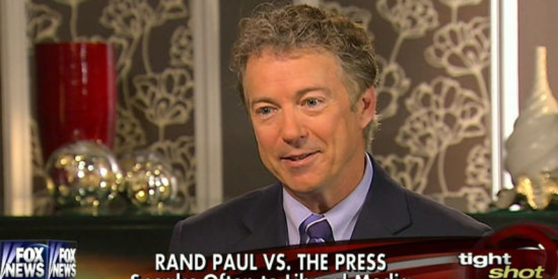 What Is With Fox News' Obvious Bias Against Rand Paul?