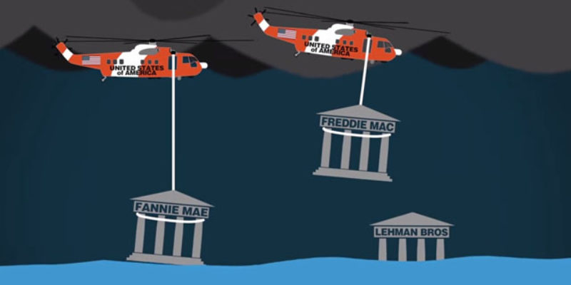 PRAGER UNIVERSITY: Should Government Bail Out Big Banks?