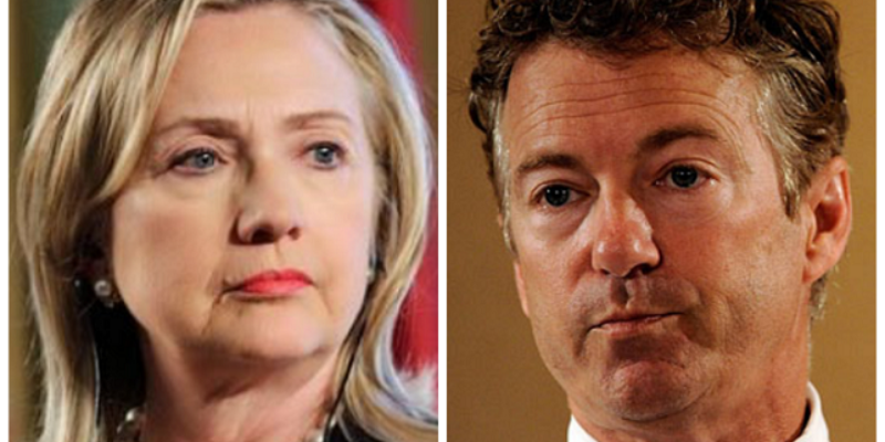 While Hillary Desperately Tries To Be 'Cool' On Instagram, Rand Paul Is Leading In Liberal Polls