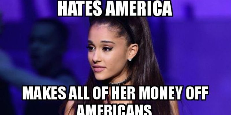 Dear Celebrities, If You Hate America Stop Making Money Off Of Us