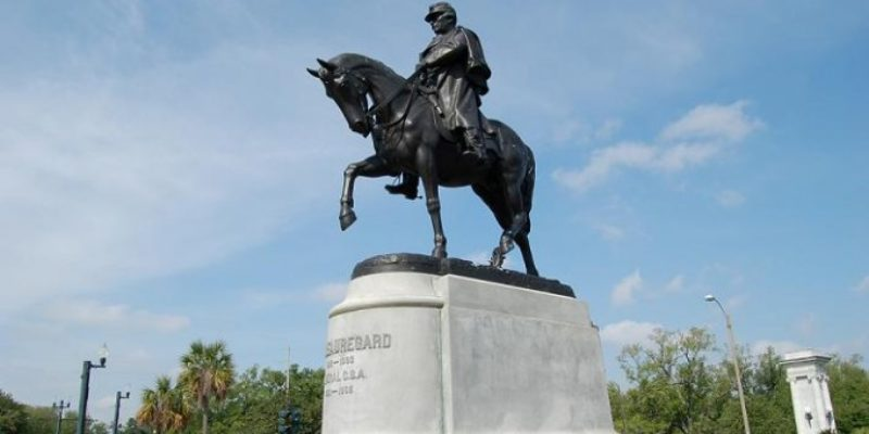 VIDEO: Watch This Confrontation In Front Of The P.G.T. Beauregard Monument