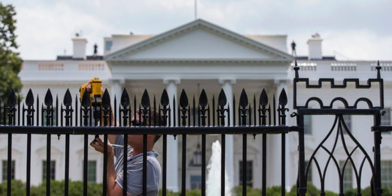 The White House's Spiked Fence Is Now More Treacherous Than The Southern Border