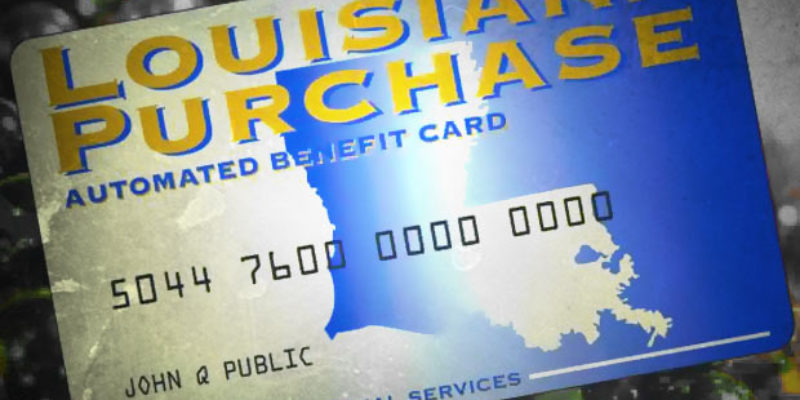 A Bill Offering Food Stamps For Drug Felons Just Passed A Louisiana House Committee