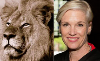 The Big Difference Between Cecil The Lion And Cecile Richards In One Photo