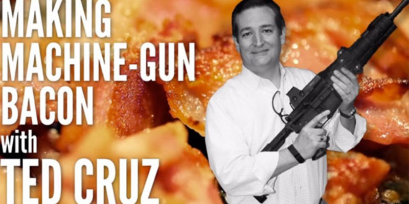 VIDEO: Ted Cruz Knows A Better Way To Cook Bacon Than You Do