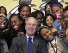 FAIL: George W Bush's New Orleans Visit For Hurricane Katrina Draws Exactly One Protester
