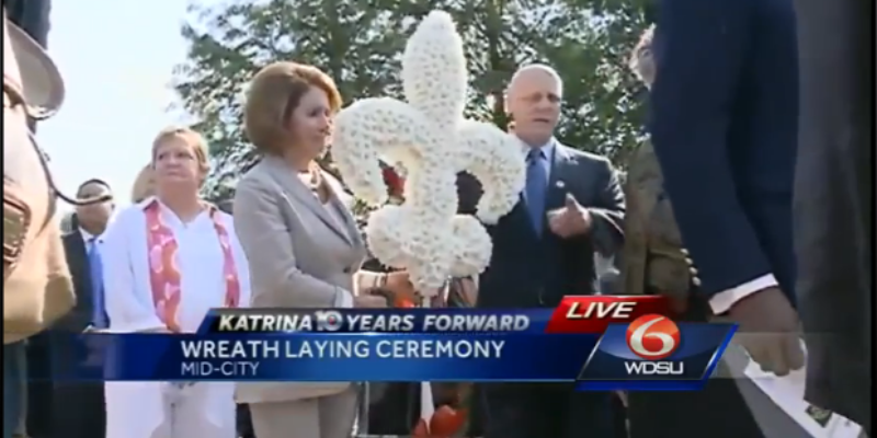 Why In The World Was Nancy Pelosi In New Orleans To Commemorate Hurricane Katrina?