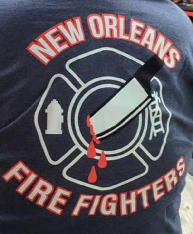 nola firefighters t-shirts