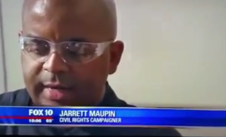 The Viral Video Of #BlackLivesMatter Protester Failing Police Test On When To Shoot Suspect