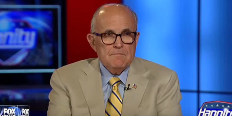 Rudy Giuliani Is Either Nuts Or The Democrats' Worst Nightmare