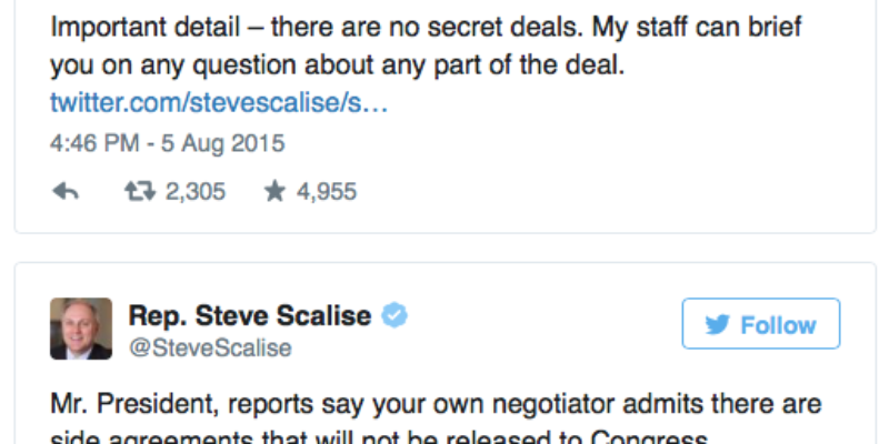 Want To See Steve Scalise Obliterate Obama's Secret Iran Nuclear Deal?