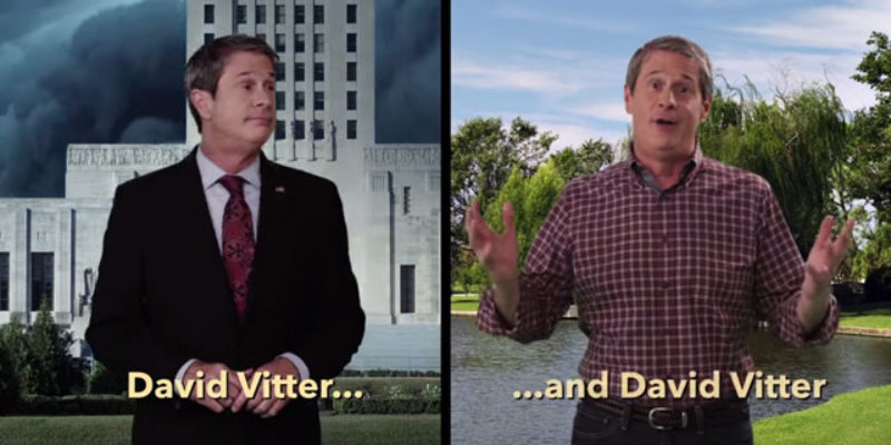 Vitter's TV Campaign Goes Up Tomorrow