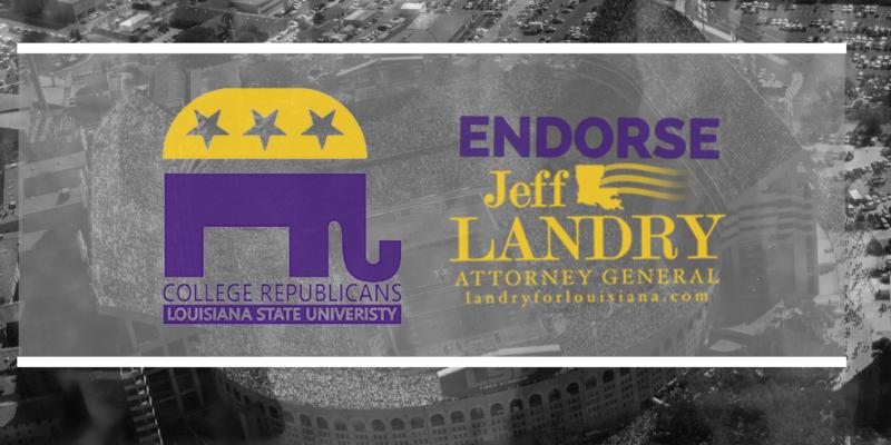 LSU College Republicans Endorse Jeff Landry