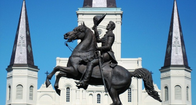First They Came For Lee Circle, Now They're Coming For Jackson Square