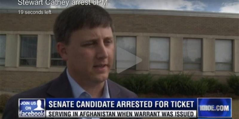 The Stewart Cathey Arrest Kerfuffle