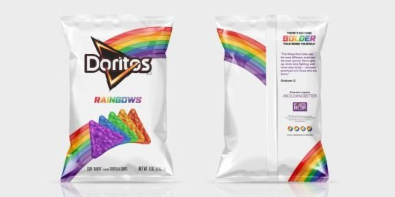 Now Doritos Want You To Be Puking Rainbows For The Gay Community