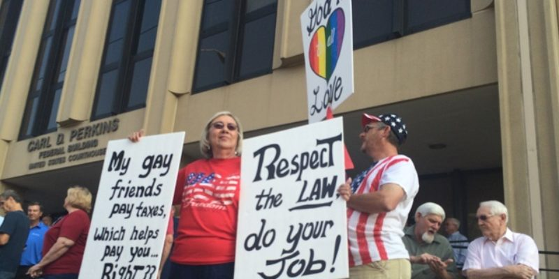 DRAMA QUEENS: Calm Down Gay Community, Kentucky Court Clerk Isn't Destroying Your Precious Marriage