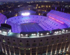 VIDEO: What Theme Music Would You Use On This Purple Tiger Stadium Drone Flyover?