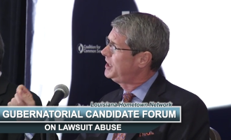 VIDEO: Dardenne, Vitter Address Lawsuit Reform at Gubernatorial Forum